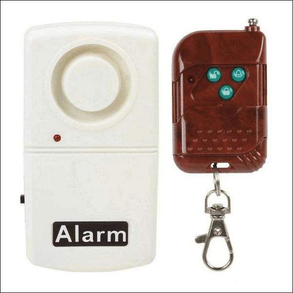 Thiết bị chống trộm cảm biến rung FuTech FH-CR01