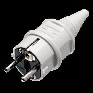 Phích cắm công nghiệp tiếp xúc an toàn 16A-2P + E-230V