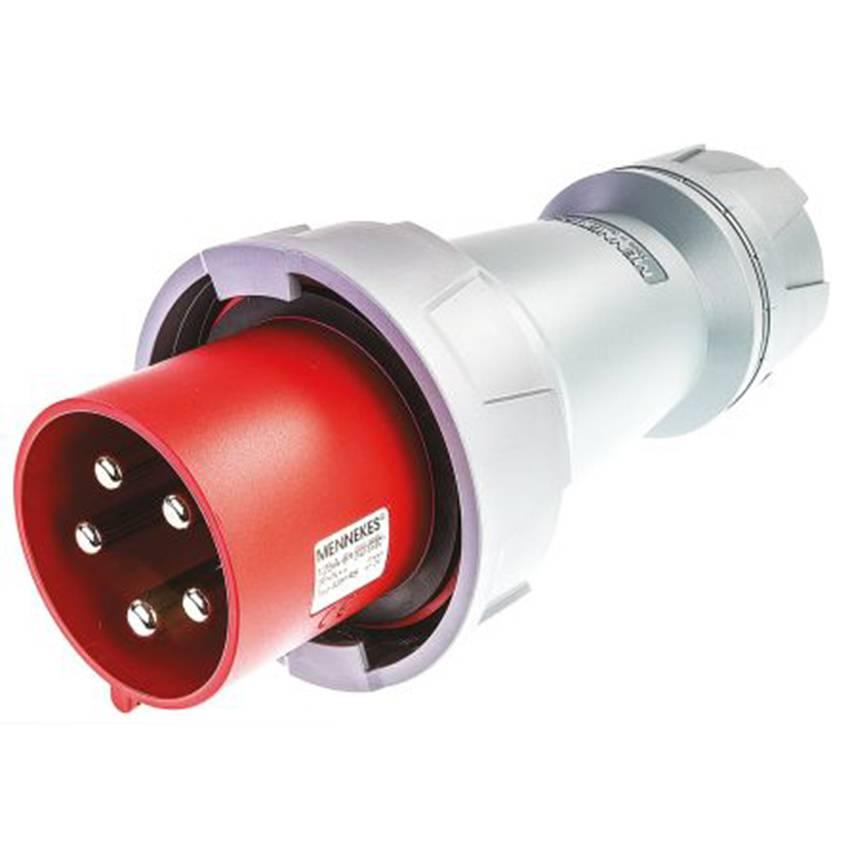 Phích cắm công nghiệp 125A-5P-400V-6H-IP67