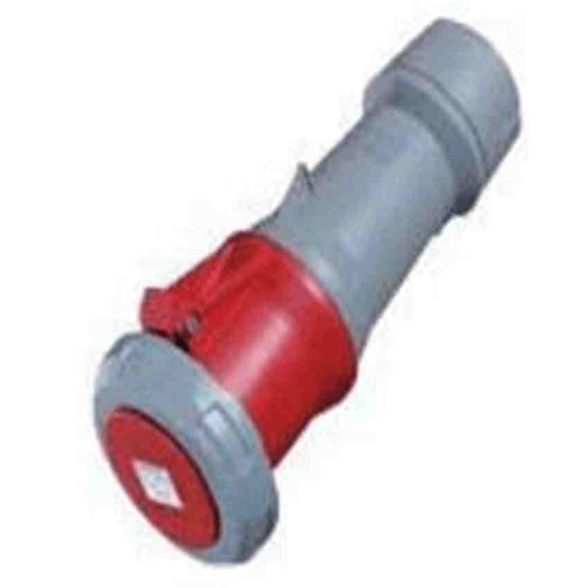 Đầu nối nguồn công nghiệp 63A-4P-400V-6H-IP67