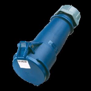 Đầu nối nguồn công nghiệp 16A-3P-230V-6H-IP44