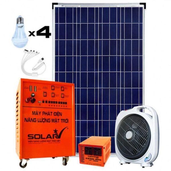 Bộ phát điện năng lượng mặt trời SV-COMBO-100