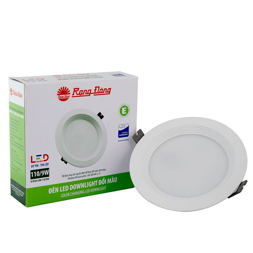 Đèn Led Downlight đổi màu D AT02L DM 110/9W