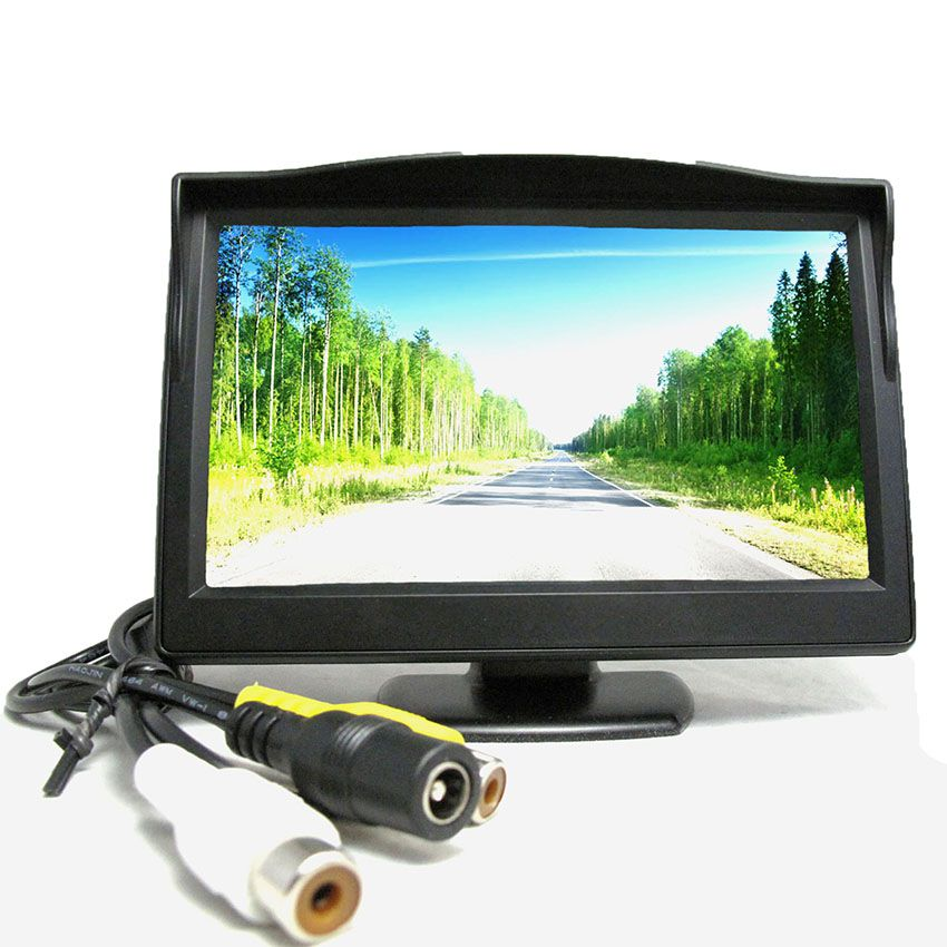 """Màn hình LCD 5 """"cho Camera quan sát sau xe"""