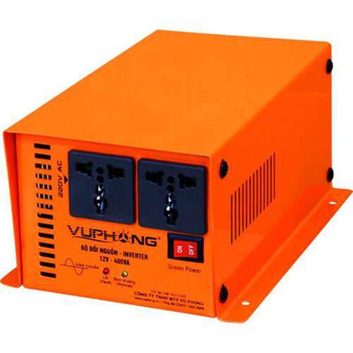 Bộ đổi nguồn / kích điện (inverter) SINE CHUẨN 12V-400VA