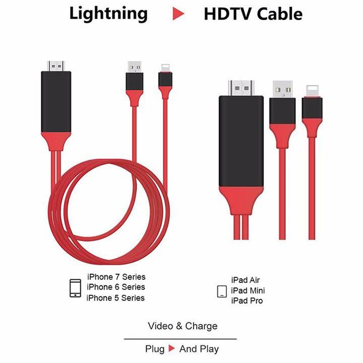 Cáp kết nối điện thoai IOS với Tivi