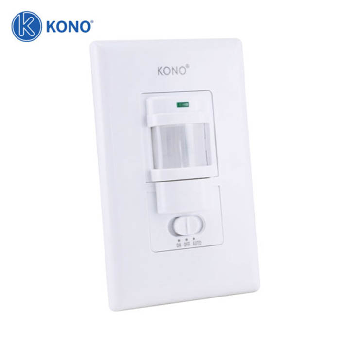 Công tắc cảm biến hồng ngoại gắn tường KONO KN-W09B