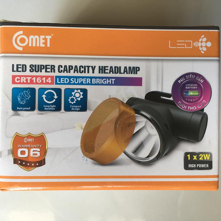 Đèn pin đội đầu COMET CRT1614