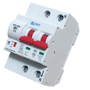 Cầu dao điện tổng điều khiển từ xa qua điện thoại MCB-40A