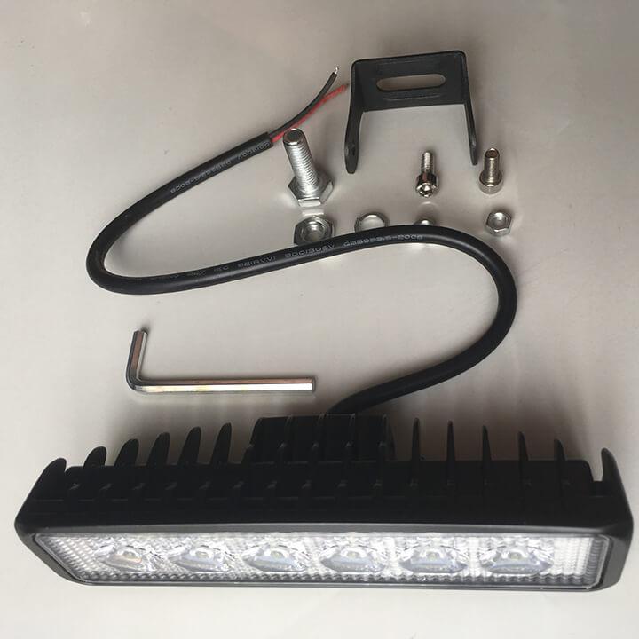 Đèn led trợ sáng moto đi phượt C6 dạng thanh