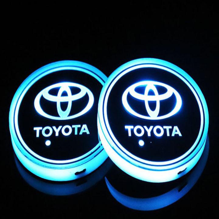 Bộ 2 đèn LED Bi Xenon Logo Xe Hơi