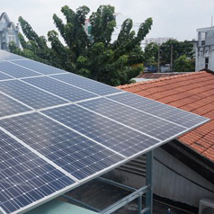 Tấm pin năng lượng mặt trời Poly 55W