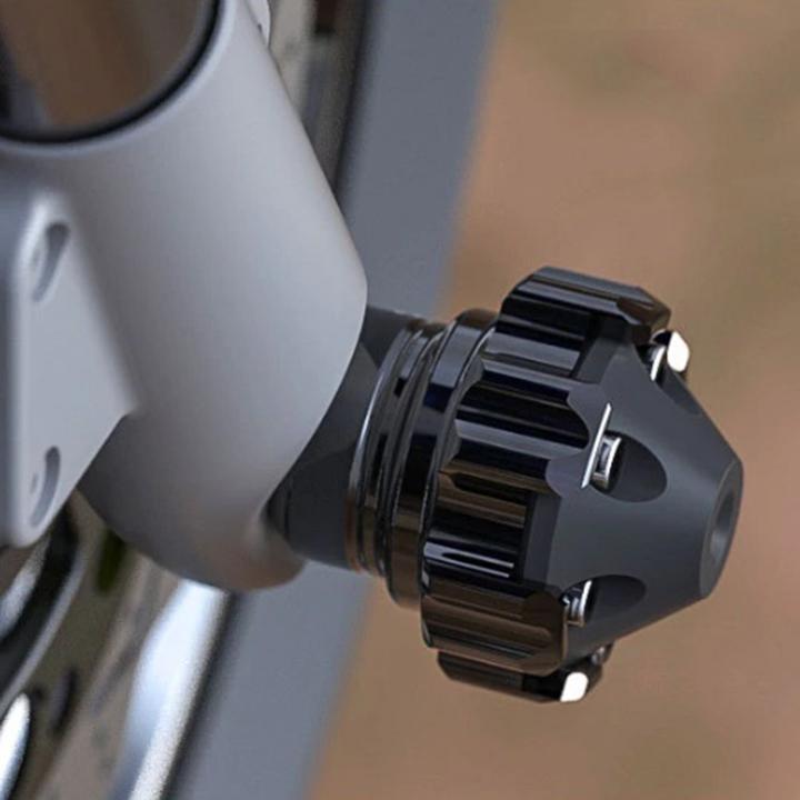 Gù giảm chấn gắn phuộc trước xe máy bảo vệ động cơ khi ngã