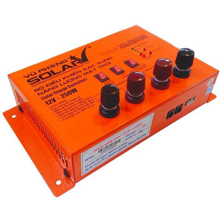 Bộ điều khiển sạc xung MPP 12V-250W