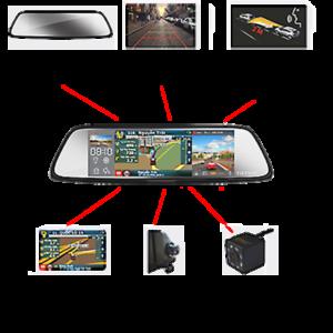 Camera hành trình gương chiếu hậu 6 trong 1 VIETMAP G79