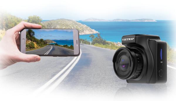Camera hành trình hồng ngoại phát WiFi truyền dữ liệu qua Smartphone